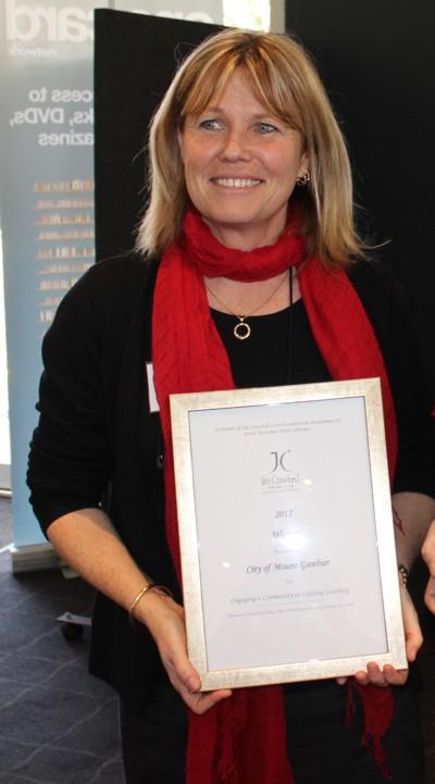 Jim Crawford Award 2012